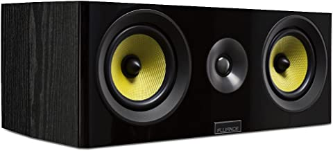 Fluance Signature Series HiFi Two-Way Center Channel Speaker for Home Theater (HFC)