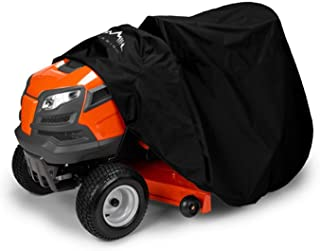 """Himal Outdoors Lawn Mower Cover -Tractor Cover Fits Decks up to 54"""" Storage Cover Heavy Duty 210D Polyester Oxford, UV Pro..."""