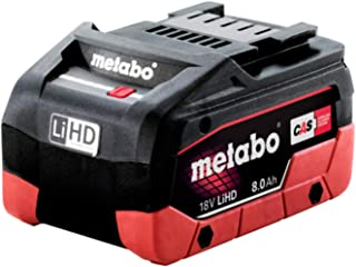 Metabo 625369000 Battery Pack LiHD 18 V - 8.0 Ah