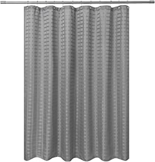 Barossa Design Fabric Shower Curtain Grey Gray