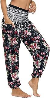 Womens Ladies Elasticted Waist Celebs Floral Aztec Print Side Pvc Lined Leggings