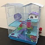 Best Hamster Cages - New Twin Tower Large Crossing Tube Habitat Syrian Review