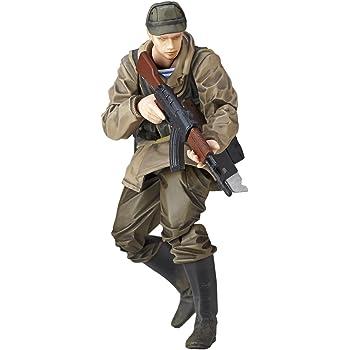 マイクロヤマグチ リボルミニ MGSⅤ:TPPソ連軍兵士  約125mm ABS&PVC製 塗装済み可動フィギュア rmex-002