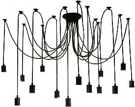 Galapara 14 E27 plafondspider hanger lamp licht antiek klassiek instelbare DIY retro arm restaurants hal slaapkamer huisve...