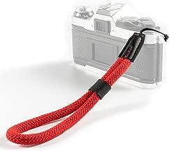 VKO Cotton Soft Camera Wrist Strap, Hand Strap Compatible for Fujifilm Instax Mini 90, Mini 9, Wide 300, Mini 26, Mini 8,Mini 70, Square SQ6, Mini 8+ Hand Strap Red