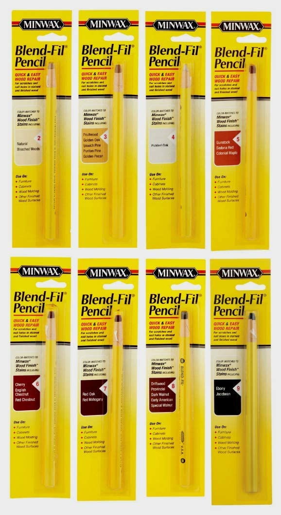 MINWAX Wood BLEND-FIL Max 87% OFF PENCIL Repair Bombing free shipping T Stain Nail Scratches Holes