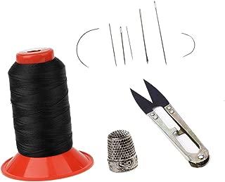 Baosity 500m Bonded Nylon Sewing Thread &Assorted Hand Needles&Thread Cutter&Thimble