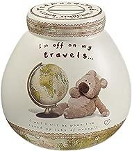 Pot Of Dreams Ceramic Money Box/ Pot Tedmund I'm Off On My Travels 402572 -