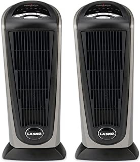 Lasko 751320 Ceramic Tower Heater with Remote Control (2-Pack)