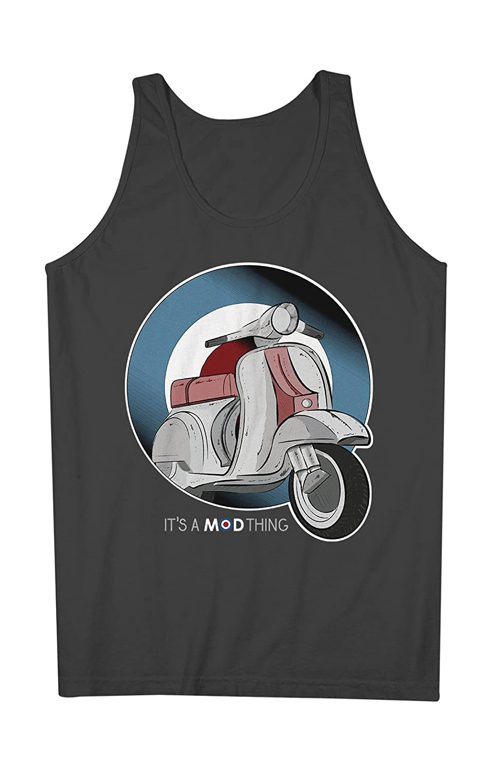 It's A Mod Thing Moped Mod Culture 男性用 Tank Top Sleeveless Shirt