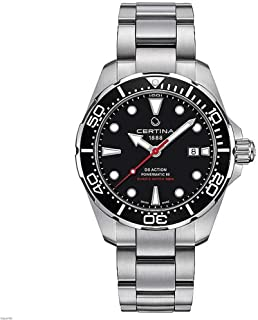 Certina - DS Action - Reloj automático para hombre con correa de acero de 43 mm C032.407.11.051.00