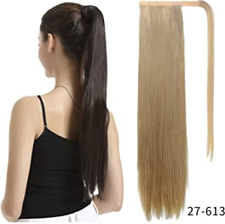 long straight ponytail extension