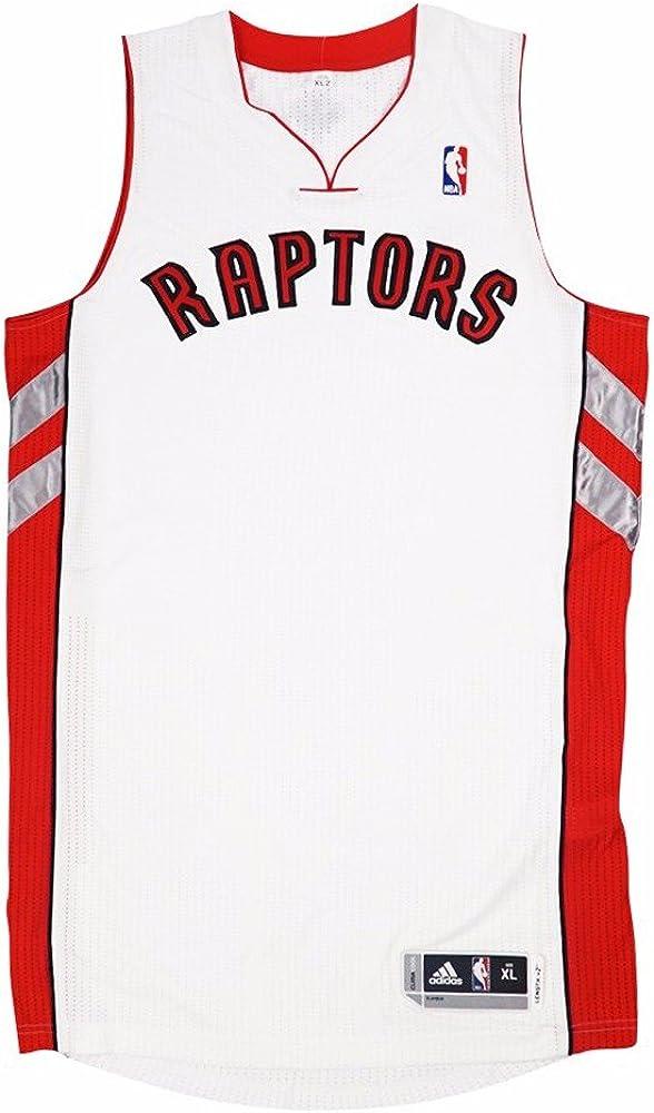 adidas Toronto Raptors NBA White Official Authentic ... - Amazon.com