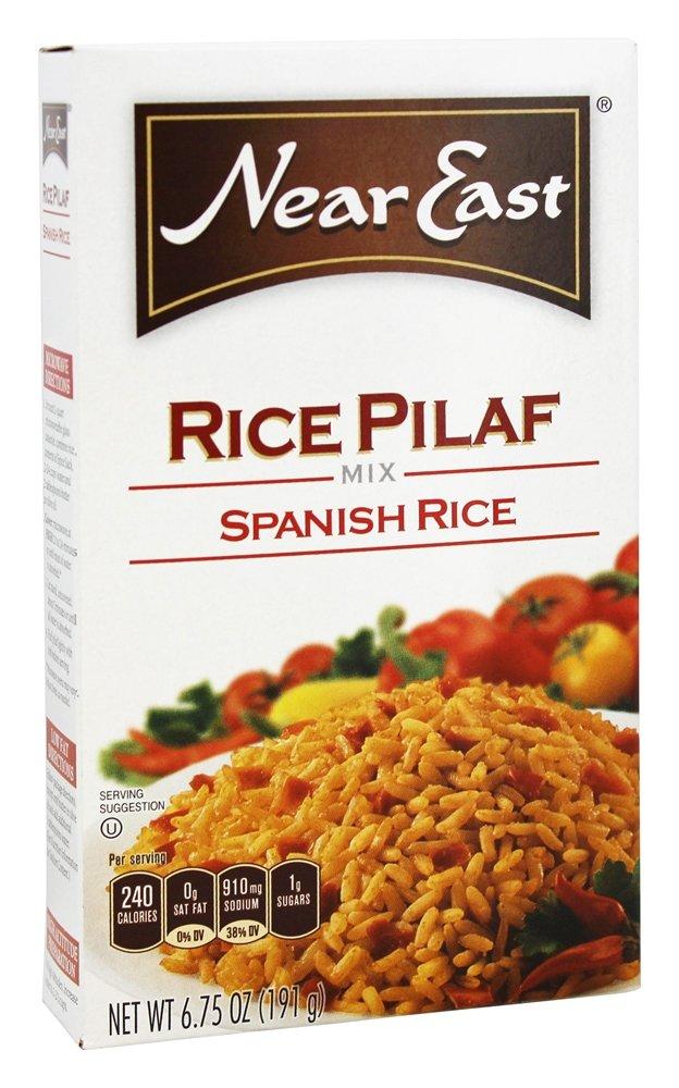 New life NEAR EAST RICE MIX gift PILAF PK- 6.75 12 SPANISH OZ