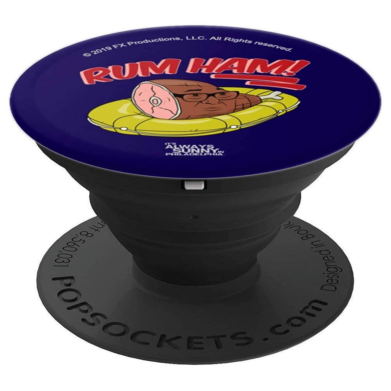 It's Always Sunny in Philadelphia Rum Ham Frank - PopSockets Grip and Stand for Phones and Tablets