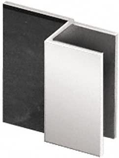 CRL Chrome Square Style Frameless Shower Door Stop