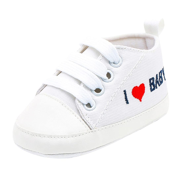 入り口塩苦悩[Yochyan_子供靴] ベビーシューズ 可愛い 女の子 男の子 幼児シューズ 運動靴 スニーカー プリント レースアップ スポツー 柔らかい コットン 歩く練習 滑り止め カジュアル ファッション おしゃれ 日常着 11 12 13