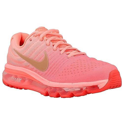 newest 5e69f ac7e0 Nike Womens Air Max 2017 (Gs) Trail Running Shoes