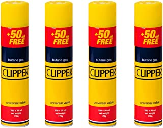 Aspect Genuine 300ml Clipper Butane Gas | New Clipper Portable Lighter Butane Gas Refill With Large Capacity Butane Gas Fo...