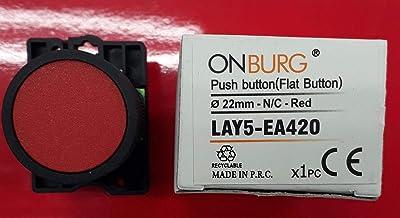 ONBURG LAY5-EA420 Q22 N/C KIRMIZI YAYLI STOP BUTONU