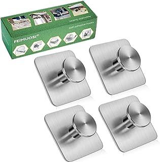 comprar comparacion Ganchos adhesivos Gancho para toallas de uso pesado Gancho de pared resistente al agua Gancho de llave de acero inoxidable...