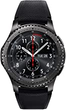 SAMSUNG GEAR S3 FRONTIER Smartwatch 46MM (Bluetooth Only) – Dark Grey (Renewed)