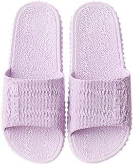 KINDOYO Mens Slippers - Women Indoor House Slippers Anti-Slip Pool Water Shoes Bath Slippers