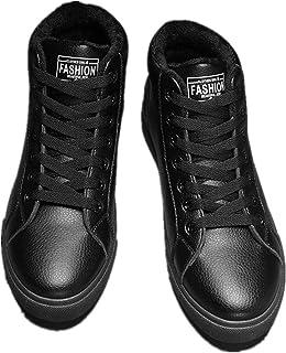 Alebaba Mujeres Alta Top Invierno Zapatillas De Deporte De Piel Caliente Zapatos De Nieve Mujer Unisex Cesta Botas