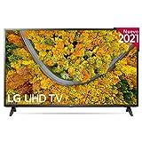 LG 65UP7500-ALEXA 2021-Smart TV 4K UHD 164 cm (65') con Procesador Quad Core, HDR10 Pro, HLG, Sonido Virtual Surround, HDMI 2.0, USB 2.0, Bluetooth 5.0, WiFi