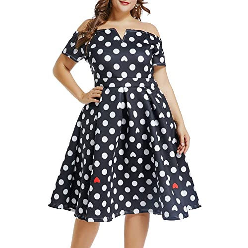 Plus Size 1950s Vintage Dresses: Amazon.com