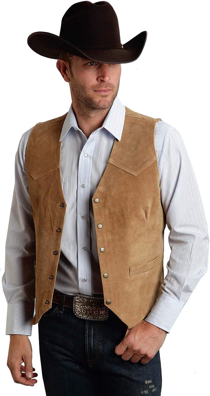 Men's Suede Ranking Import TOP3 Leather Suit Vest Vintage Style F Slim Cowboy Jacket