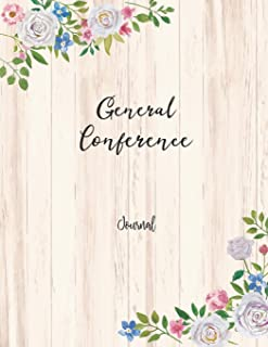 "General Conference Journal: 8.5x11"" 184 Pages Journal/Notebook (General Conference Study Companion)"