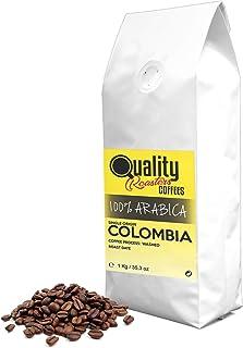 ☕ Café en grano natural. 100% Arabica. Origen único Colombia, 1kg. Tostado artesanal.