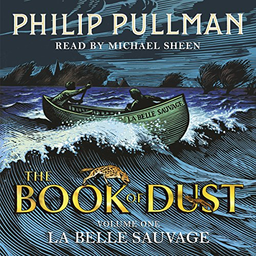 La Belle Sauvage audiobook cover art