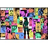 VISSJF Rompecabezas - My Hero Academia Puzzle 1000/500/300 Pieces Puzzles Rompecabezas Challenguos Imposible Puzzle Niños Adultos Juguetes Educativos WYX014,300PC