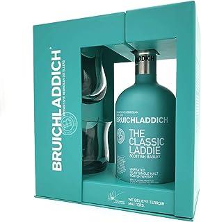 Bruichladdich Scottish Barley Laddie Classic 0,7 Liter  2 Gläser  hochwertiger Geschenkverpackung