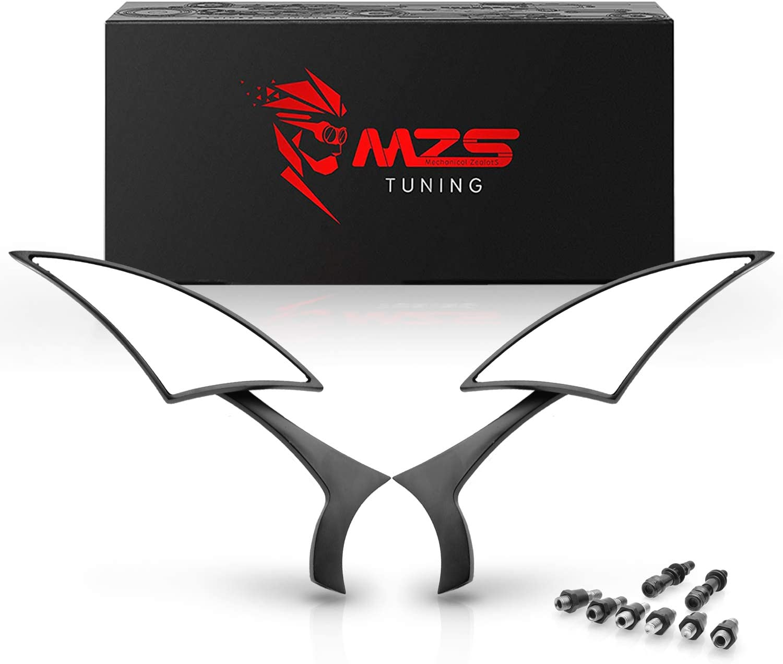 MZS Motorcycle Max 42% OFF Mirrors Universal 360 latest Vi Adjustment Rear Degree