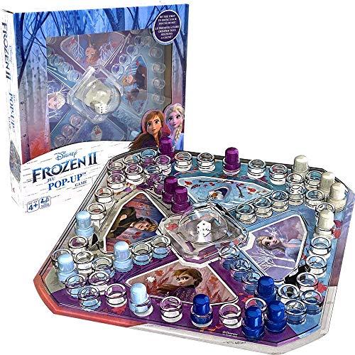 Disney Frozen JEU - Juego de mesa para niños, 2-4 jugadores