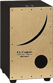 Roland ELCajon Electronic Layered Cajon, Natural (EC-10)