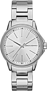 Armani Exchange Women's AX4345 Silver Watch