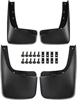 A-Premium Splash Guard Mud Flaps Replacement for Jeep Liberty KK 2008-2012 Sport Utility Front and Rear 4-PC