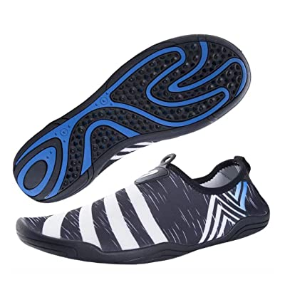 YQXCC Water Shoes Mens Womens Barefoot Quick Dr...