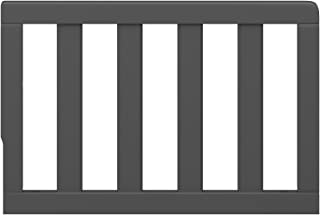 Storkcraft Toddler Guardrail, Gray Safety Guard Rail for Convertible Crib & Toddler Bed