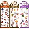 270 fogli Scrapbook Stickers Adesivi per Scrapbooking Album DIARY Arti e Mestieri fai da te Carino Animali Adesivi Kawaii Adesivi Giornale Adesivi Decorazioni Adesivi per Scrapbooking (Furry) #2