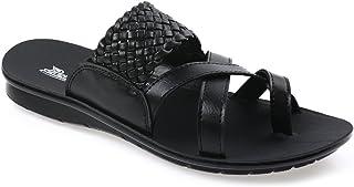 PARAGON Men's Black Thong Sandals - 9 UK/India (43 EU)(PU6870G)