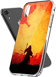 Case Phone Anti-Scratch Cover Motion Picture The Grey Movies (6.5-inch Diagonal Compatible with iPhone Xs Max)