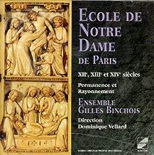 Ecole de Notre-Dame de Paris in the 12th, 13th & 14th Centuries / Vellard