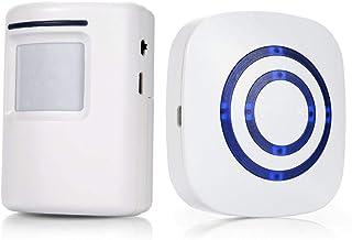 Infrared Motion Sensor Welcome Alarm Wireless Doorbell Entrance Alert for Shop & Office