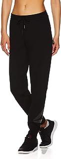 Reebok Women's Slim Fit Jogger Pants - Mid Rise Waist Athleisure Sweatpants for Women