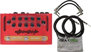Hotone NLF-2 MojoAttack Nano Legacy Floor Amplifier Pedal w/ 4 Cables and Geartr